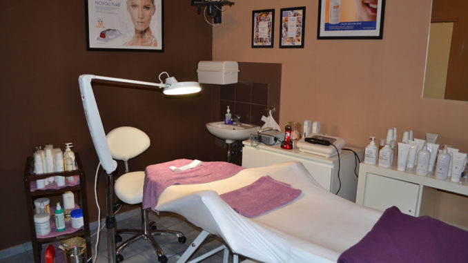 Hýčkání v kosmetickém salonu